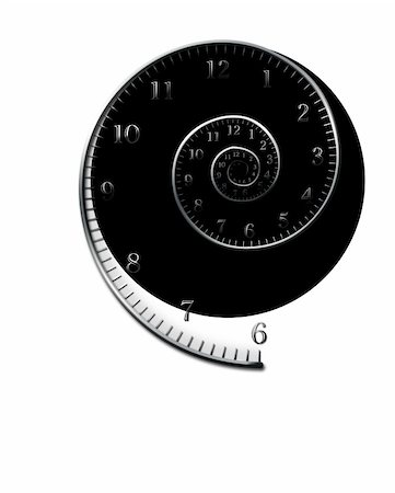 rolffimages (artist) - spiral_for_clock Stock Photo - Budget Royalty-Free & Subscription, Code: 400-05678370