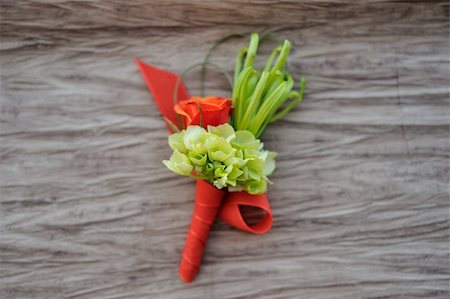 Image of a creatively designed  boutonniere Stock Photo - Budget Royalty-Free & Subscription, Code: 400-05678494