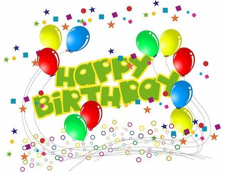 happy birthday Stock Photo - Budget Royalty-Free & Subscription, Code: 400-05684811