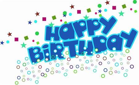 happy birthday Stock Photo - Budget Royalty-Free & Subscription, Code: 400-05684831