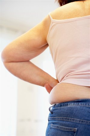 Detail Of Overweight Woman Stock Photo - Budget Royalty-Free & Subscription, Code: 400-05686628