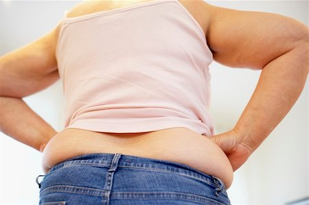Detail Of Overweight Woman Stock Photo - Budget Royalty-Free & Subscription, Code: 400-05686629