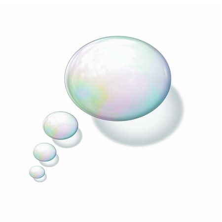An image of a nice soap bubble background Stock Photo - Budget Royalty-Free & Subscription, Code: 400-05699583