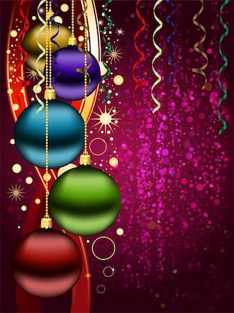 Christmas background Stock Photo - Budget Royalty-Free & Subscription, Code: 400-05693018