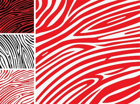Red Zebra background pattern - perfect texture for your unique design! Stock Photo - Budget Royalty-Free & Subscription, Code: 400-05693539