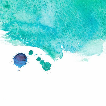 drop painting splash - Abstract watercolor hand painted background Stock Photo - Budget Royalty-Free & Subscription, Code: 400-05693706