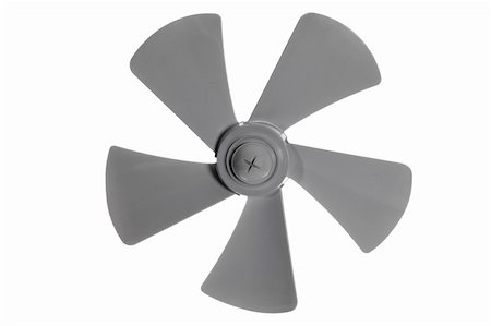 Iimpeller fan isolated on white background Stock Photo - Budget Royalty-Free & Subscription, Code: 400-05704385