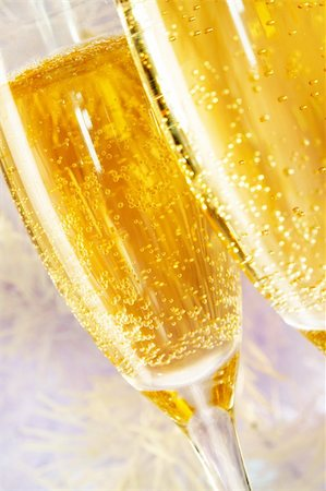 simsearch:400-05749231,k - Macro image of two champagne flutes Stock Photo - Budget Royalty-Free & Subscription, Code: 400-05705285