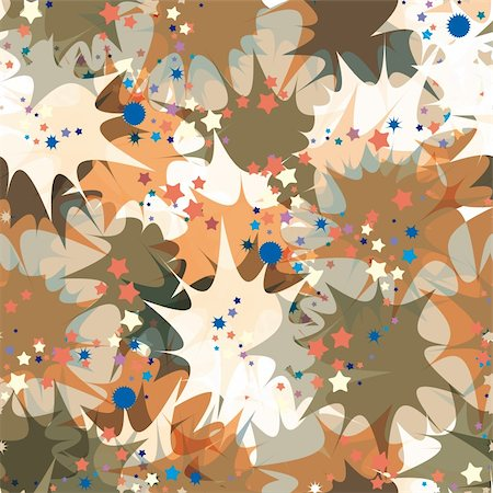 Petard exploding seamless pattern. Stock Photo - Budget Royalty-Free & Subscription, Code: 400-05706439