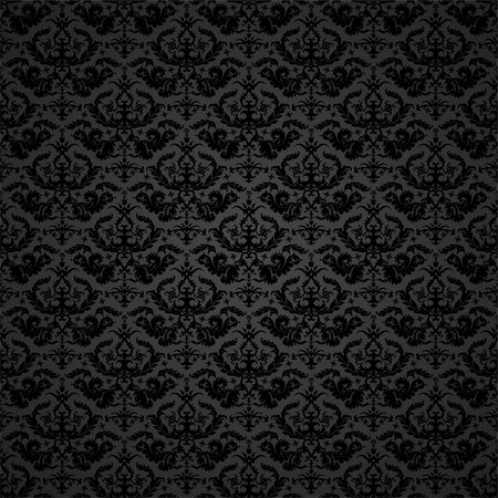 background illustration of a damask pattern, eps 8 vector Stock Photo - Budget Royalty-Free & Subscription, Code: 400-05706595