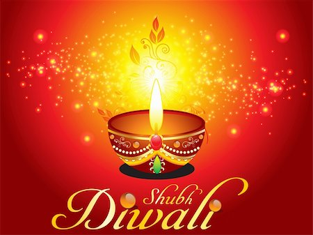 abstract diwali background with sparkle vectlr Stock Photo - Budget Royalty-Free & Subscription, Code: 400-05707848