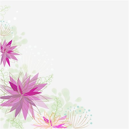 simsearch:400-04744132,k - Abstract Flower Background, Vector Illustration Stock Photo - Budget Royalty-Free & Subscription, Code: 400-05716674