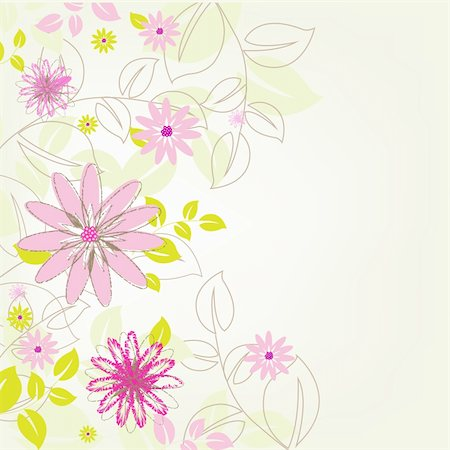 simsearch:400-04744132,k - Abstract Flower Background, Vector Illustration Stock Photo - Budget Royalty-Free & Subscription, Code: 400-05716672