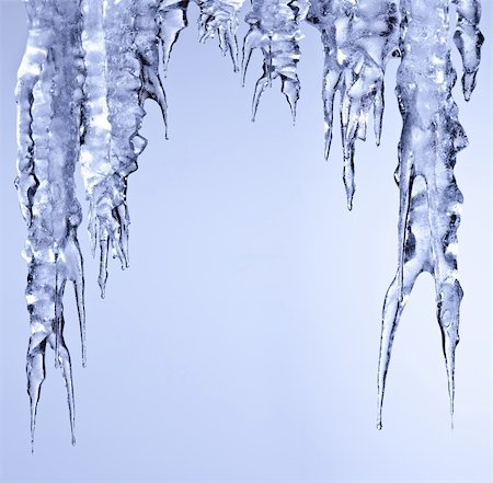 icicles sparkling white ice hanging down Stock Photo - Budget Royalty-Free & Subscription, Code: 400-05735828