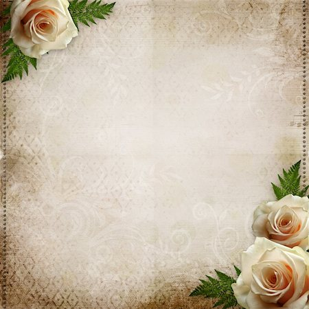vintage beautiful wedding background Stock Photo - Budget Royalty-Free & Subscription, Code: 400-05738415