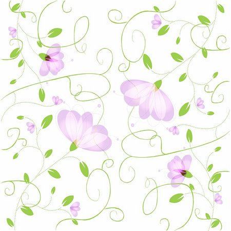 simsearch:400-04744132,k - Abstract Flower Background, Vector Illustration Stock Photo - Budget Royalty-Free & Subscription, Code: 400-05730136