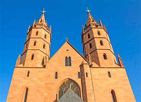 Late-Gothic church, Church of Our Lady (Liebfrauenkirche), at Worms, Rhineland-Palatinate, Germany. Stock Photo - Budget Royalty-Free & Subscription, Code: 400-05730989