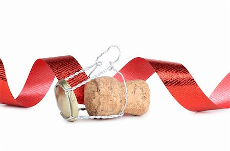 Color photo of a champagne bottle and cork Stock Photo - Budget Royalty-Free & Subscription, Code: 400-05740269