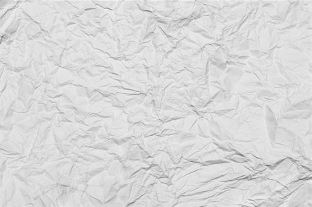 texture of the white crumpled paper Stock Photo - Budget Royalty-Free & Subscription, Code: 400-05753226
