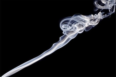 smoke magic abstract - Smoke on a black background. Isolated on black. Stock Photo - Budget Royalty-Free & Subscription, Code: 400-05876386