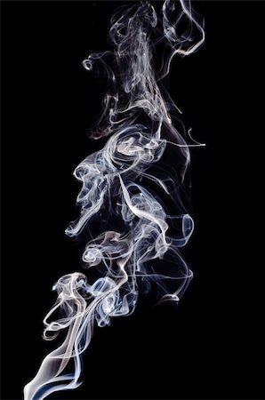 smoke magic abstract - Smoke on a black background. Isolated on black. Stock Photo - Budget Royalty-Free & Subscription, Code: 400-05876387