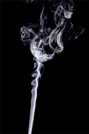 simsearch:400-05119507,k - Smoke on a black background. Isolated on black. Stock Photo - Budget Royalty-Free & Subscription, Code: 400-05876381