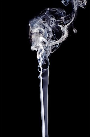 smoke magic abstract - Smoke on a black background. Isolated on black. Stock Photo - Budget Royalty-Free & Subscription, Code: 400-05876382