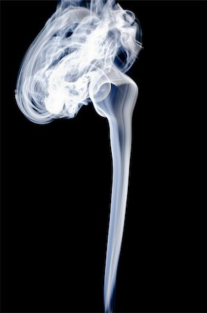 smoke magic abstract - Smoke on a black background. Isolated on black. Stock Photo - Budget Royalty-Free & Subscription, Code: 400-05876584