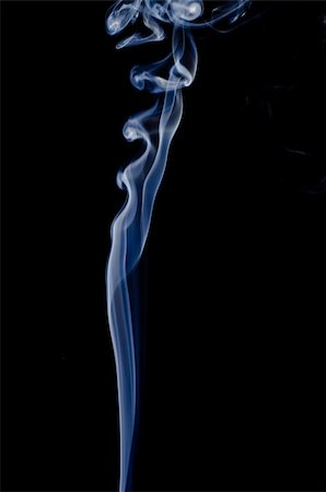 simsearch:400-05119507,k - Smoke on a black background. Isolated on black. Stock Photo - Budget Royalty-Free & Subscription, Code: 400-05876585