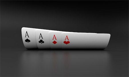 Illustration of playing cards of different colours Stock Photo - Budget Royalty-Free & Subscription, Code: 400-05877998