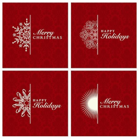 filigree - Vector Snowflake Ornament Set. Easy to edit. Perfect for invitations or announcements. Stock Photo - Budget Royalty-Free & Subscription, Code: 400-05886842