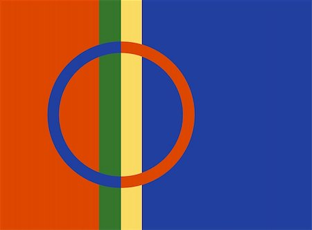 very big size sami people flag illustration Stock Photo - Budget Royalty-Free & Subscription, Code: 400-05895788