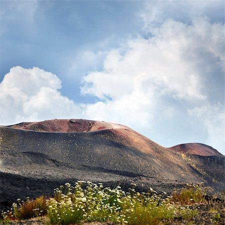 Etna landscape Stock Photo - Budget Royalty-Free & Subscription, Code: 400-05899684