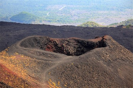 Etna landscape Stock Photo - Budget Royalty-Free & Subscription, Code: 400-05899683