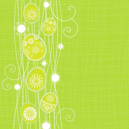 Easter background with spring motif Stock Photo - Budget Royalty-Free & Subscription, Code: 400-05905449