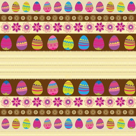 gaily colored background with Easter eggs Stock Photo - Budget Royalty-Free & Subscription, Code: 400-05906233