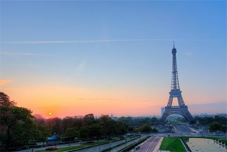 Eiffel tower in Paris France Stock Photo - Budget Royalty-Free & Subscription, Code: 400-05906647