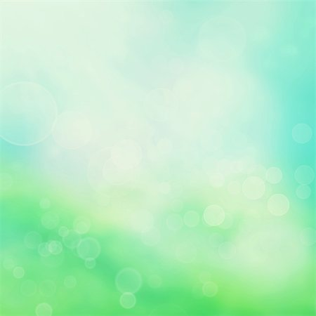 Spring or summer abstract nature background with grass in the meadow and blue sky in the back Stock Photo - Budget Royalty-Free & Subscription, Code: 400-05907583