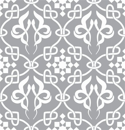 svetap (artist) - Retro seamless background. Vintage keltik Irish wallpaper. Texture vector illustration. Pattern celtic style. Stock Photo - Budget Royalty-Free & Subscription, Code: 400-05901950