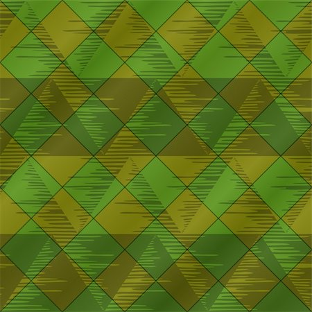 simsearch:400-04476890,k - Abstract seamless background, - triangles and plaid, green. Vector eps10, contains transparencies Stock Photo - Budget Royalty-Free & Subscription, Code: 400-05903799