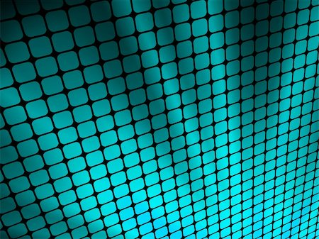 simsearch:400-04476890,k - Blue rays light 3D mosaic. EPS 8 vector file included Stock Photo - Budget Royalty-Free & Subscription, Code: 400-05919405