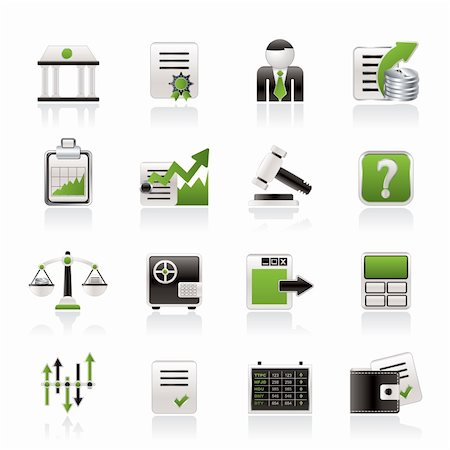 report icon - Stock exchange and finance icons - vector icon set Stock Photo - Budget Royalty-Free & Subscription, Code: 400-05919749