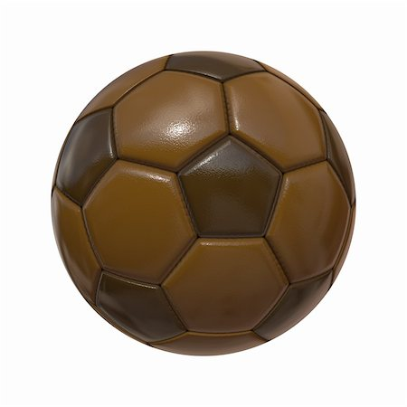 simsearch:400-04344039,k - An image of an isolated soccer ball chocolate Stock Photo - Budget Royalty-Free & Subscription, Code: 400-05910439
