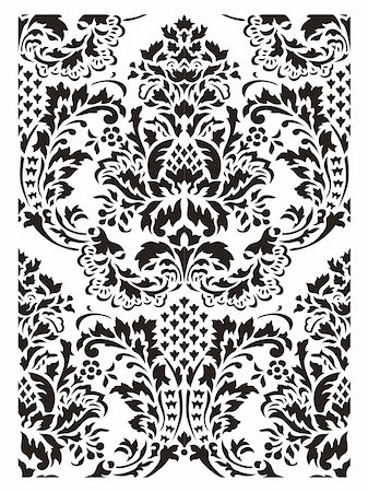 Pattern vector Stock Photo - Budget Royalty-Free & Subscription, Code: 400-06074029