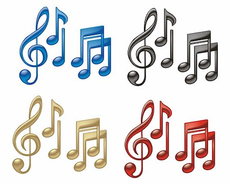Music vector Stock Photo - Budget Royalty-Free & Subscription, Code: 400-06074038