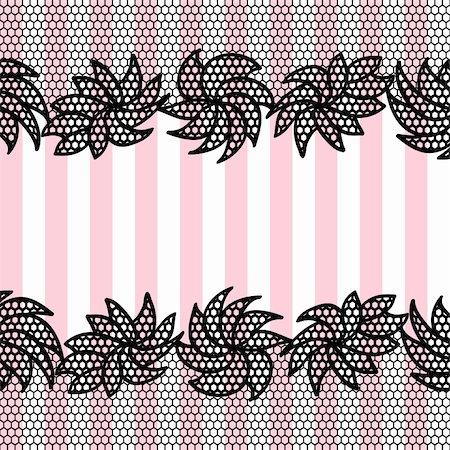 White vector lace pattern background may be used as invitation card Stock Photo - Budget Royalty-Free & Subscription, Code: 400-06076609