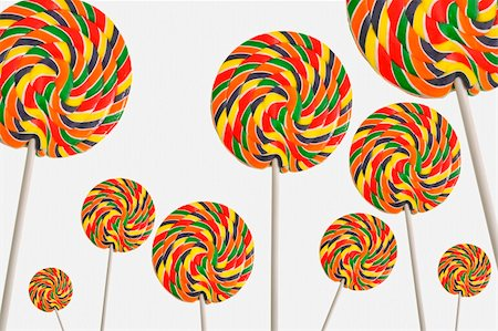 simsearch:400-04344039,k - Set of colorful lollipops Stock Photo - Budget Royalty-Free & Subscription, Code: 400-06077969