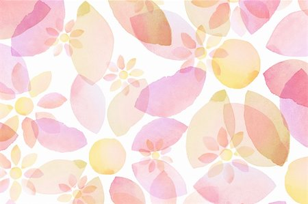 Designed watercolor flower background, texture Stock Photo - Budget Royalty-Free & Subscription, Code: 400-06085614