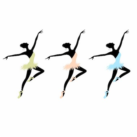 Ballet dancers for your design Stock Photo - Budget Royalty-Free & Subscription, Code: 400-06080199