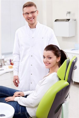 The patient in the dental clinic Stock Photo - Budget Royalty-Free & Subscription, Code: 400-06095094